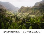 cape verde. gorgeous view of... | Shutterstock . vector #1074596273