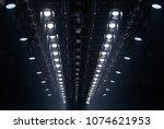 performance moving lighting... | Shutterstock . vector #1074621953