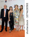 Small photo of LOS ANGELES - APR 20: Ken Riekel, Isabella Davis, Nancy Davis, Mariella Davis at the 25th Annual Race To Erase MS Gala on the Beverly Hilton Hotel on April 20, 2018 in Beverly Hills, CA