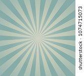 sunlight retro faded background.... | Shutterstock .eps vector #1074715073
