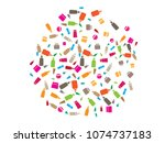 abstract background for body... | Shutterstock .eps vector #1074737183