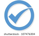 Tick - stock vector