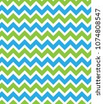 zig zag pattern. abstract... | Shutterstock .eps vector #1074808547
