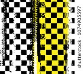 Grunge Checkered Racing...