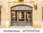 paris  france   april 11  2017  ... | Shutterstock . vector #1074910763