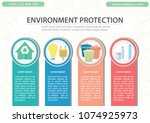 environmental protection... | Shutterstock .eps vector #1074925973