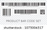 bar code icon. set of modern... | Shutterstock .eps vector #1075006517