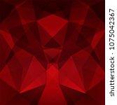 polygonal vector background.... | Shutterstock .eps vector #1075042367