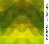 abstract polygonal vector... | Shutterstock .eps vector #1075042397