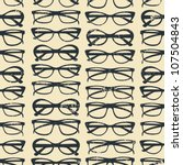 seamless pattern with glasses...   Shutterstock .eps vector #107504843