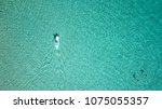aerial drone bird's eye view of ... | Shutterstock . vector #1075055357