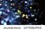 bokeh lights for party  holiday ... | Shutterstock . vector #1075082903