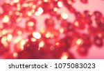 bokeh lights for party  holiday ... | Shutterstock . vector #1075083023