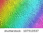 Abstract Rainbow Drops  Can Be...