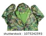 raincoat raincoat isolated on...   Shutterstock . vector #1075242593