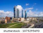 madrid  spain financial... | Shutterstock . vector #1075295693