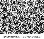 grunge pattern. abstract design.... | Shutterstock .eps vector #1075479563