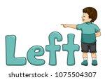 illustration of a kid boy...   Shutterstock .eps vector #1075504307
