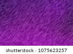 dark purple vector pattern with ... | Shutterstock .eps vector #1075623257