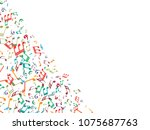 abstract background for... | Shutterstock .eps vector #1075687763
