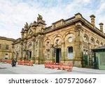 accrington  uk   april 18  2018 ... | Shutterstock . vector #1075720667