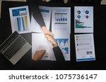 business partnership consult... | Shutterstock . vector #1075736147