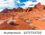 amazing colors and shape of the ... | Shutterstock . vector #1075753703