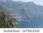 amalfi coast landscape | Shutterstock . vector #1075812533