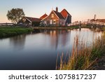 traditional architecture in... | Shutterstock . vector #1075817237