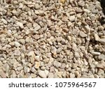 gravel texture background | Shutterstock . vector #1075964567
