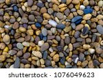 Colorful Small Pebble And Ston...