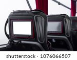 closeup blank screen lcd rear... | Shutterstock . vector #1076066507