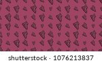 repeating seamless pattern of... | Shutterstock .eps vector #1076213837