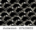 sequins seamless pattern.... | Shutterstock .eps vector #1076238053