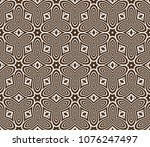 seamless texture of floral... | Shutterstock .eps vector #1076247497