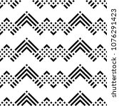 seamless pattern with chevrons  ... | Shutterstock .eps vector #1076291423