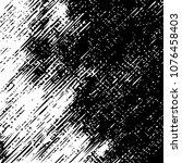 black and white grunge dust... | Shutterstock .eps vector #1076458403