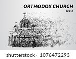 orthodox church of the... | Shutterstock .eps vector #1076472293
