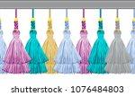 seamless border pattern ...   Shutterstock .eps vector #1076484803