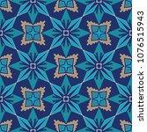 vector seamless texture.... | Shutterstock .eps vector #1076515943