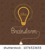creative brainstorm concept...   Shutterstock .eps vector #1076523653