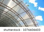 canopy from polycarbonate arc....