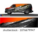 car graphic vector. abstract... | Shutterstock .eps vector #1076679947