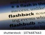 Small photo of flashback flashback concept.