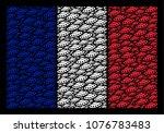 french national flag concept... | Shutterstock .eps vector #1076783483