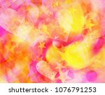 dreamy abstract backgrounds... | Shutterstock . vector #1076791253