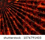 abstract fire rays backgrounds | Shutterstock . vector #1076791403