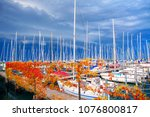 Touristic Yachts In The Port  ...