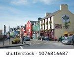 dingle  ireland 09 13 2014 ...   Shutterstock . vector #1076816687