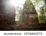 most south sanctuary prasat...   Shutterstock . vector #1076842373